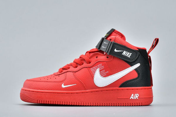 Air Force 1 '07 Mid LV8 Utility Red