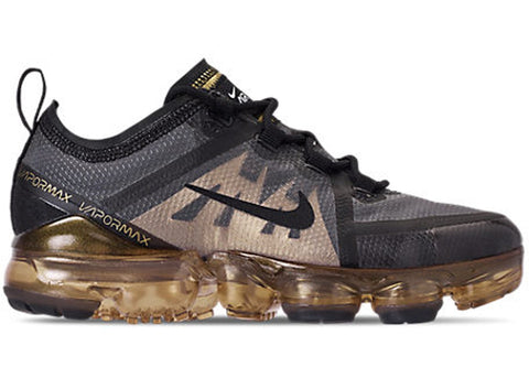 Vapormax 2019 Black/Metallic Gold