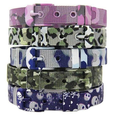 Mesh - Armband Camouflage Edition in 5 Farben - Luxurelle-Shop