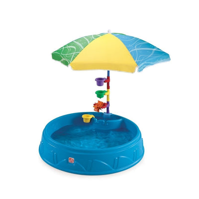 Step2 kinderbecken Play & Shade 95 x 19 cm blau