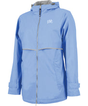 Load image into Gallery viewer, Women's New Englander Rain Jacket - Periwinkle