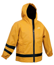 Load image into Gallery viewer, Toddler New Englander Rain Jacket - Yellow