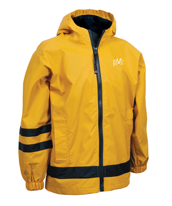 Children's New Englander Rain Jacket - Yellow