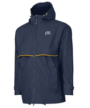 Load image into Gallery viewer, Men's New Englander Rain Jacket - Navy