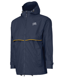 Men's New Englander Rain Jacket - Navy