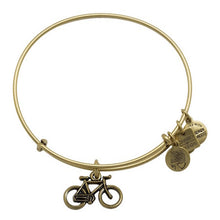 Load image into Gallery viewer, Alex and Ani Bike Charm Bangle