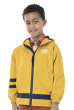 Load image into Gallery viewer, Children's New Englander Rain Jacket - Yellow