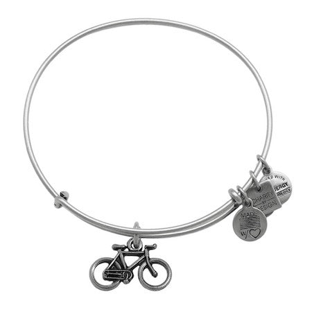 Alex and Ani Bike Charm Bangle