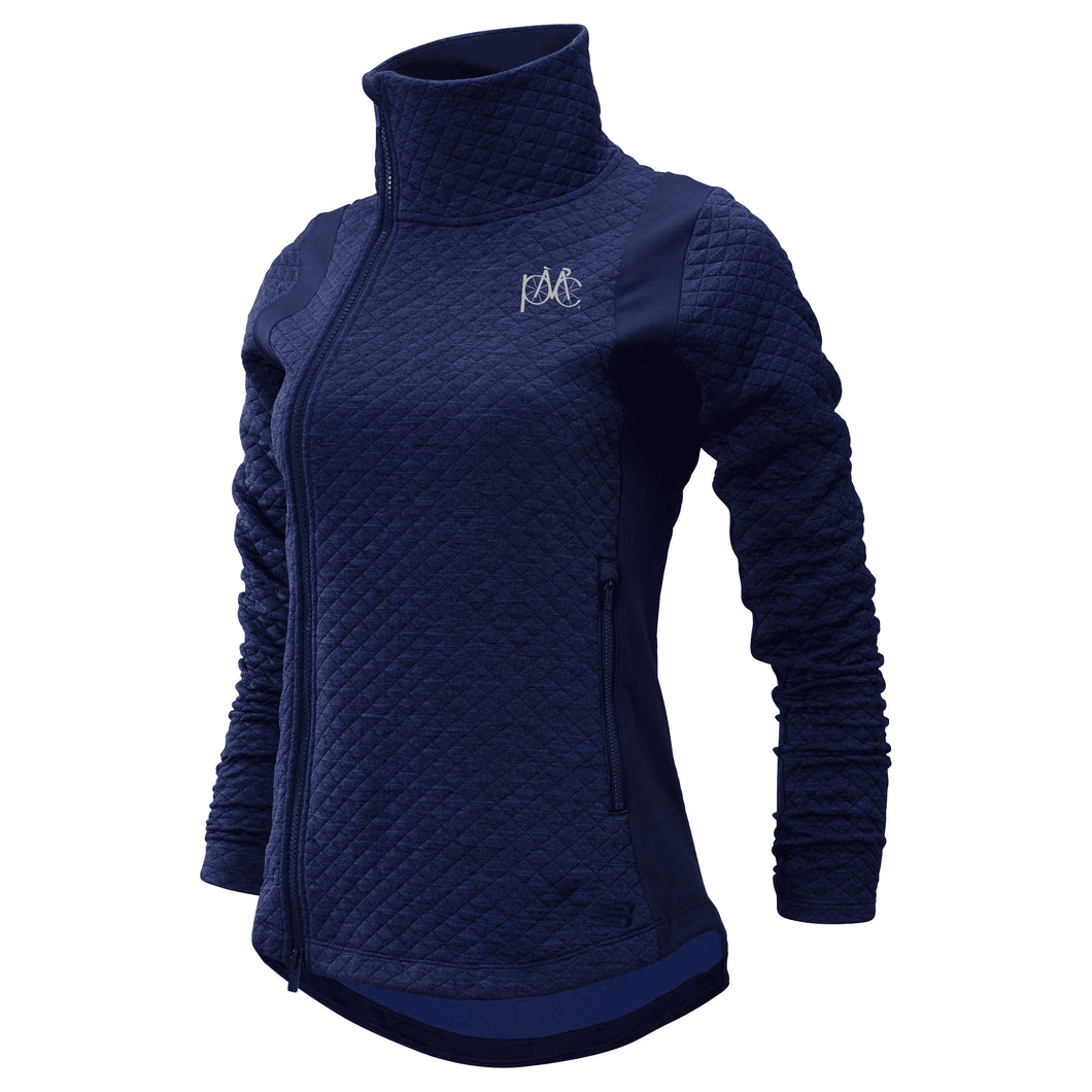 Women's New Balance Full Zip Jacket, Midnight Blue