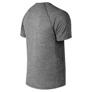 Men's New Balance Tenacity Tee - Heather Charcoal
