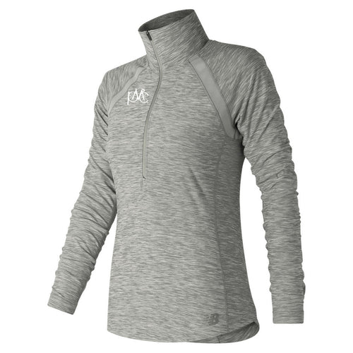 New Balance Anticipate Half Zip, Gray