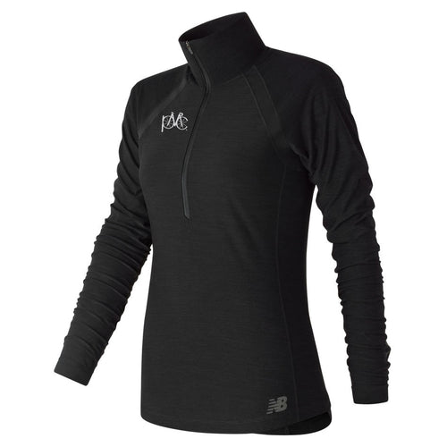 New Balance Anticipate Half Zip, Black
