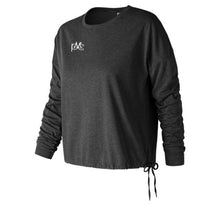 Load image into Gallery viewer, New Balance Heathertech Long Sleeve Tee