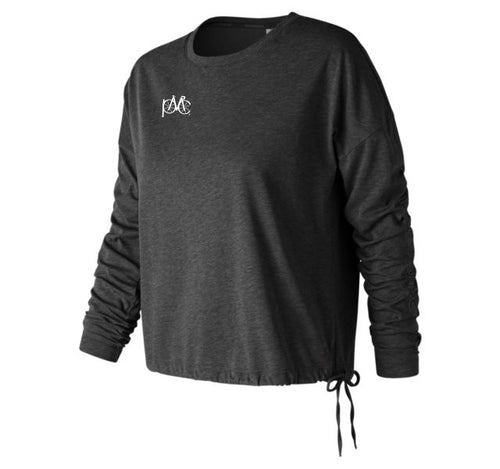 New Balance Heathertech Long Sleeve Tee