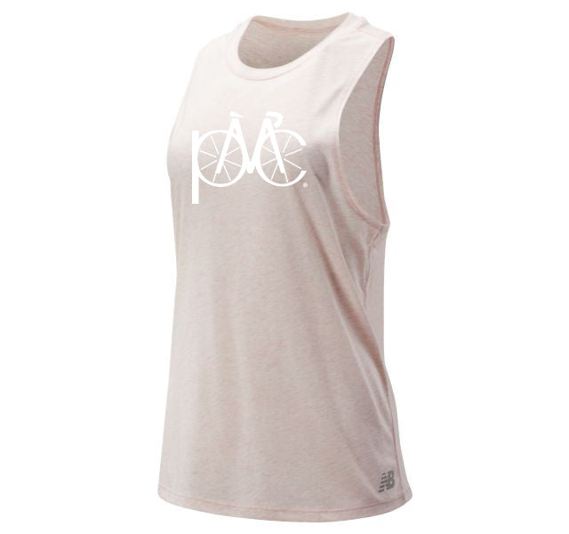Women's New Balance Relentless Tank - Soft Pink Heather