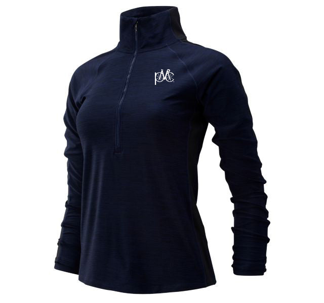 Women's New Balance Half Zip Pullover - Navy