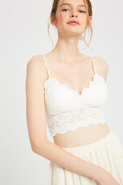 Love Padded Lace Bralette