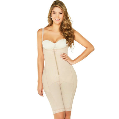 Fajas Diane & Geordi Post-surgery Capri Shapewear for Women Beige