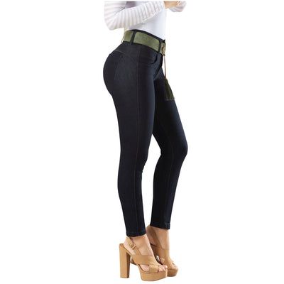 LOVEIBA DRAXY Butt lifter High Rise Skinny Jeans