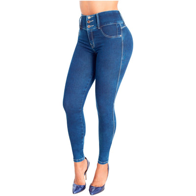 Lowla Skinny Butt Lifter Jeans for Women Looking for a jaw-dropping figure? Look elegant and attractive all day with this high waist skinny jeans you would achieve your dream figure. Ideal for any occasion at any time of the day.