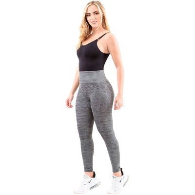 Grey High Waisted Sports Leggings
