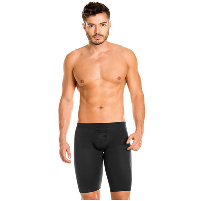 LT.ROSE 22996 Long Boxer Briefs Butt Lifter for Men with Butt Enhancement Men should love to look great and amazing. Why think that compression garment are meant for women only.  This boxer briefs for men that will protect your private area.   Our men's s