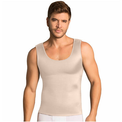 MariaE Fajas Body Shaper Compression Vest Shirts for Men | Tummy & Back Control