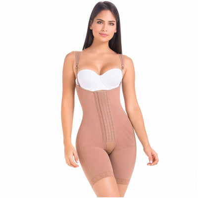 Post Surgery Body Shaper for Women | Open Bust & Front Closure