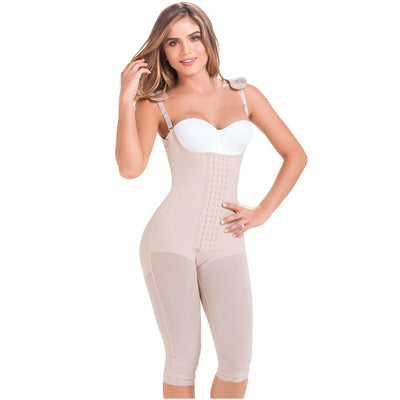 Postoperative Women's Shapewear with Shoulder Pads | Daily Use and Postsurgical