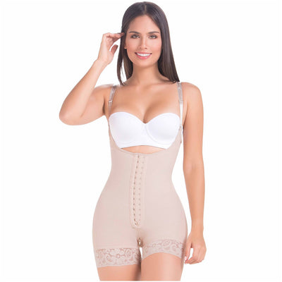 Postpartum Faja Butt Lifting Shapewear For Daily Use | Open Bust & Front Closure