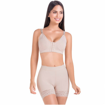 High-Waisted Tummy Control Shorts for Women