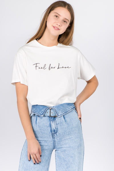 Fool For Love Graphic Tee