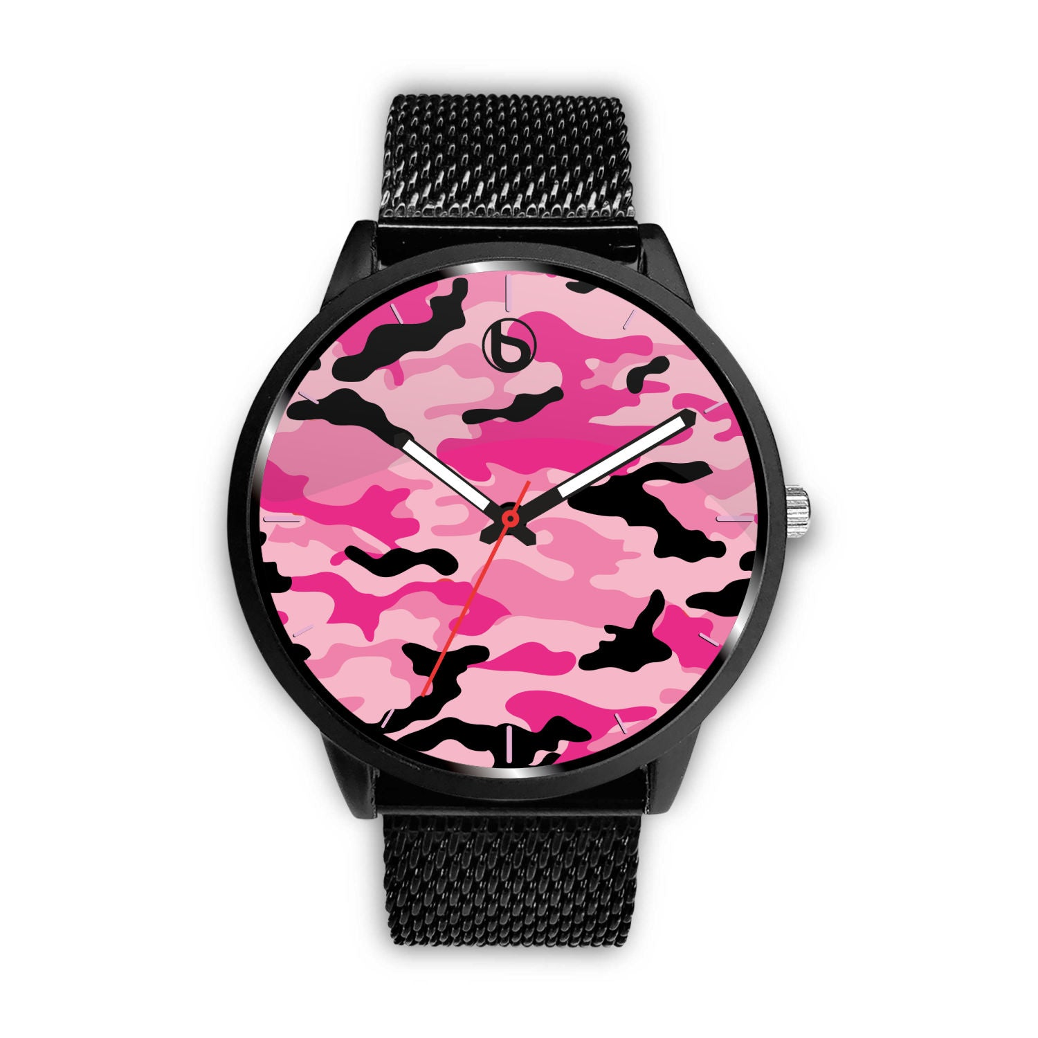 Bumperize Pink Camo Watch