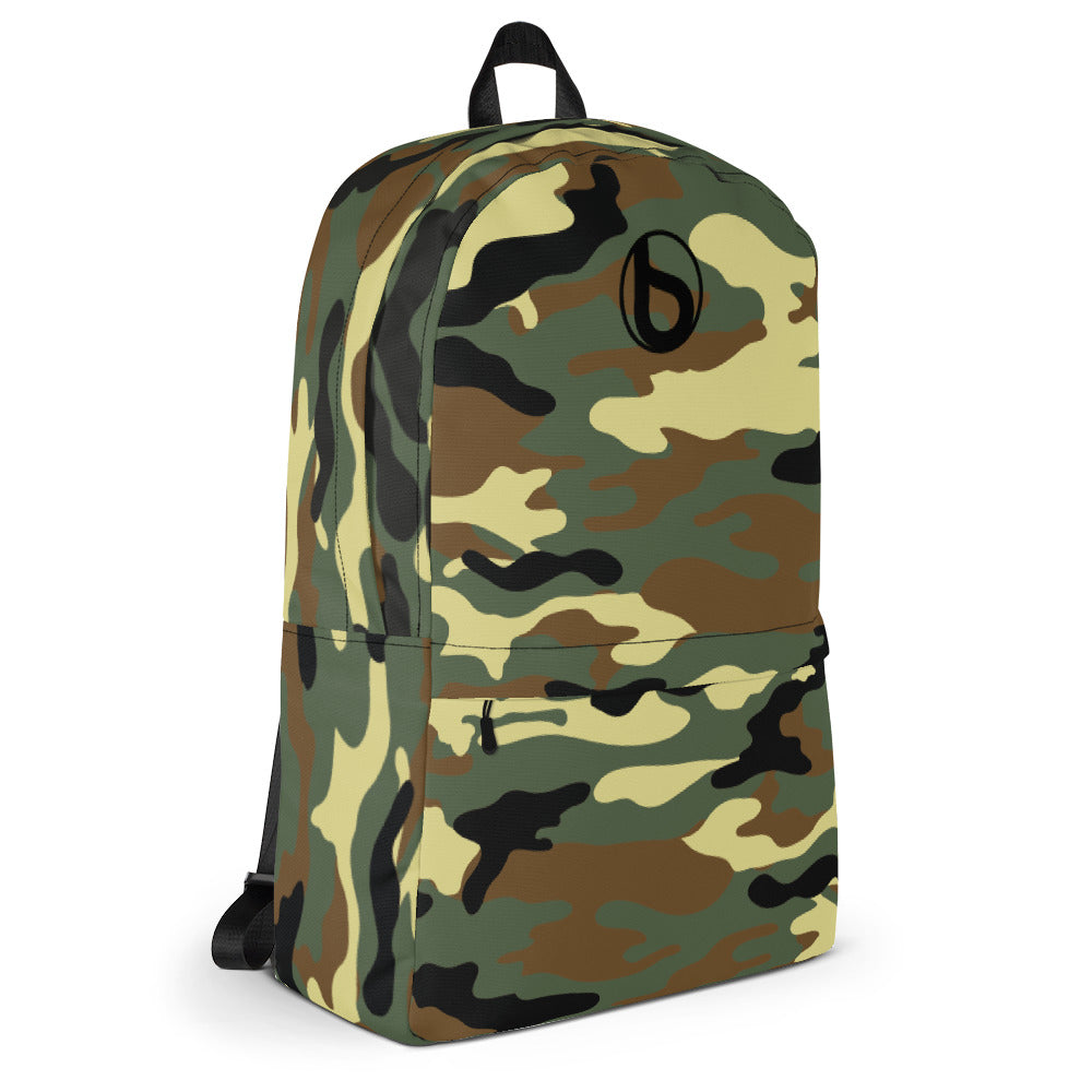 Bumperize Camo Green Backpack