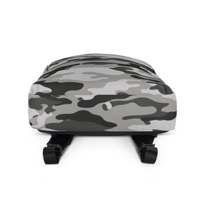 Bumperize Camo Grey Backpack