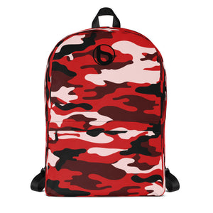 Bumperize Camo Red Backpack
