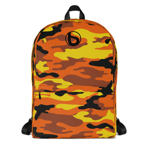 Bumperize Camo Orange Backpack