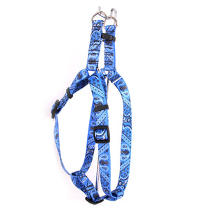 Cool Paisley Adjustable Step In Dog Harness - Posh Pawz Fashion