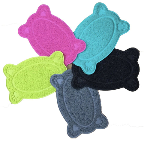 Bone Shaped Pet Feeding Mat - Posh Pawz Fashion