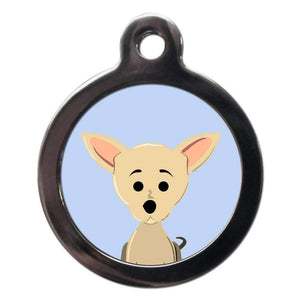 Chihuahua Dog ID Tag - Posh Pawz Fashion