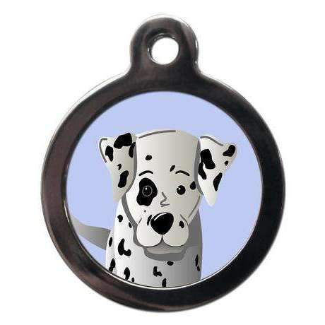 Dalmatian Dog ID Tag - Posh Pawz Fashion