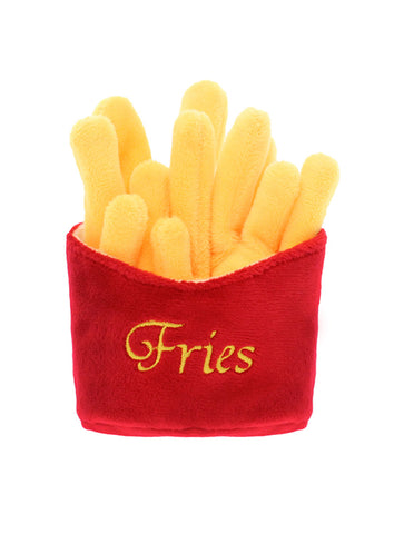 Fries Plush & Squeaky Dog Toy