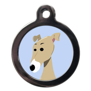 Greyhound ID Tag - Posh Pawz Fashion