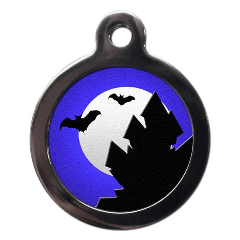Haunted House Dog ID Tag - Poochie Fashion