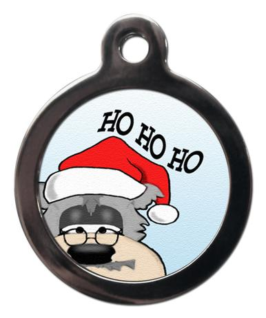 Ho Ho Ho Dog ID Tag - Posh Pawz Fashion