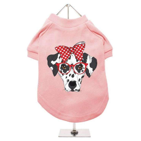 Adorable Dalmatian Dog T-Shirt - Posh Pawz Fashion