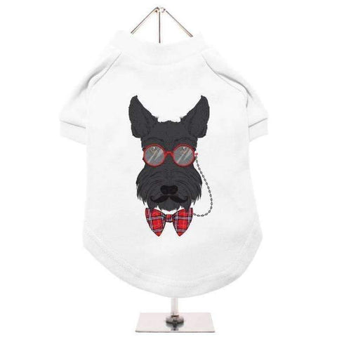 Dapper Scottish Terrier Dog T-Shirt - Posh Pawz Fashion