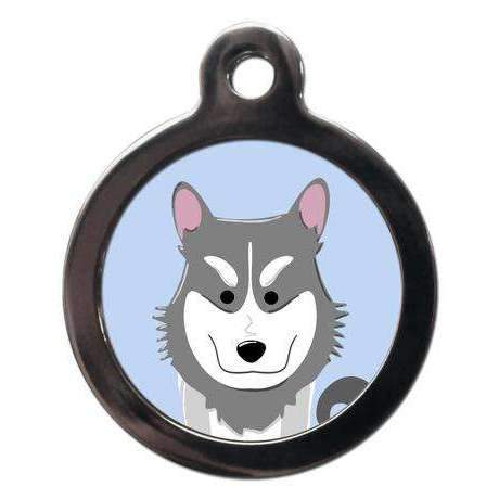 Husky Dog ID Tag - Posh Pawz Fashion