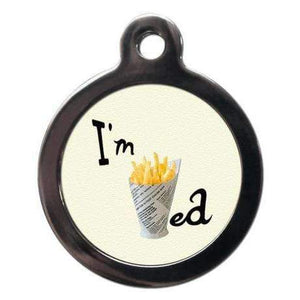 I'm Chipped Chips Dog ID Tag - Posh Pawz Fashion