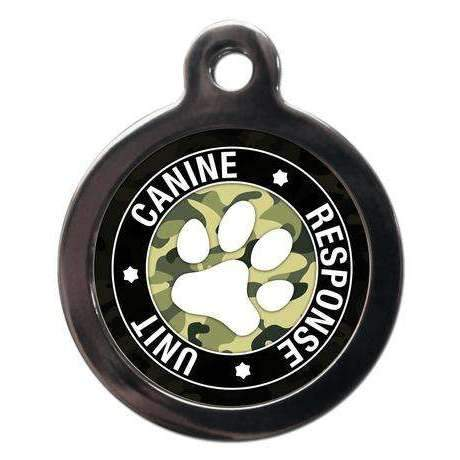 K9 Response Unit Male Dog ID Tag - Posh Pawz Fashion